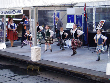Young Highland Dancers
